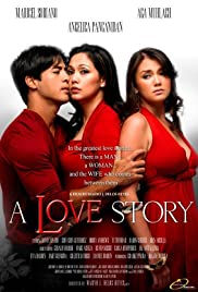 A Love Story Poster