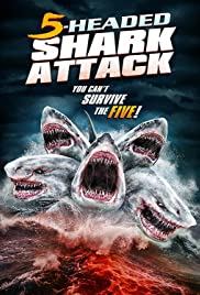 5-Headed Shark Attack (2017) 720p