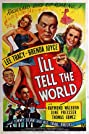 I'll Tell the World (1945) Poster