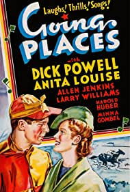 Anita Louise and Dick Powell in Going Places (1938)
