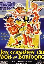 Les corsaires du Bois de Boulogne Poster