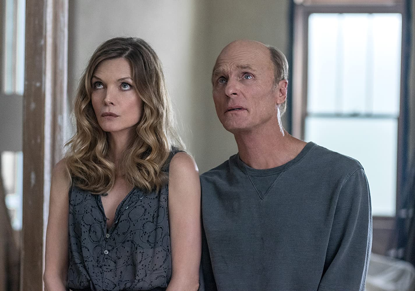 Michelle Pfeiffer and Ed Harris in Mother! (2017)