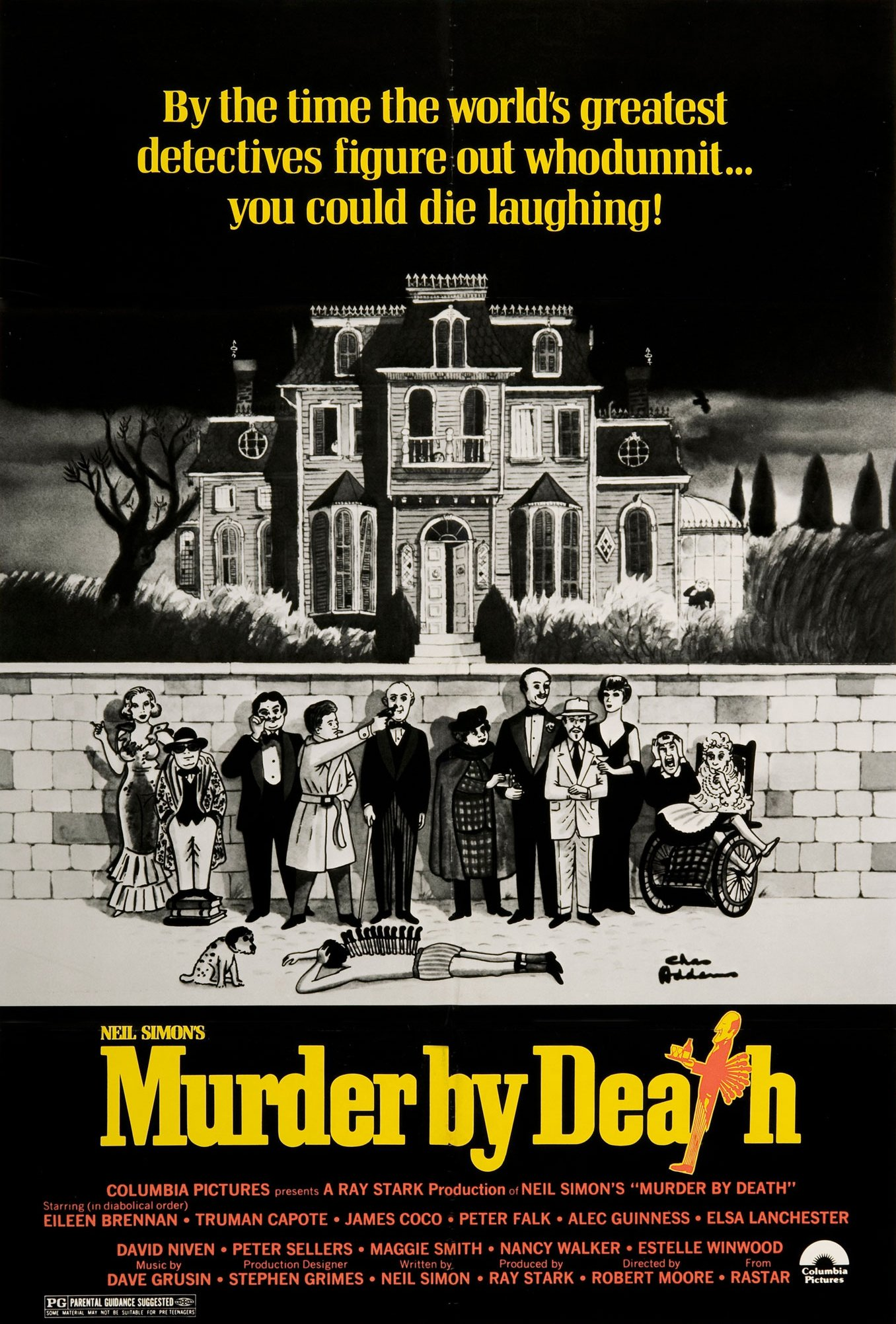 murder by death 1976 cast