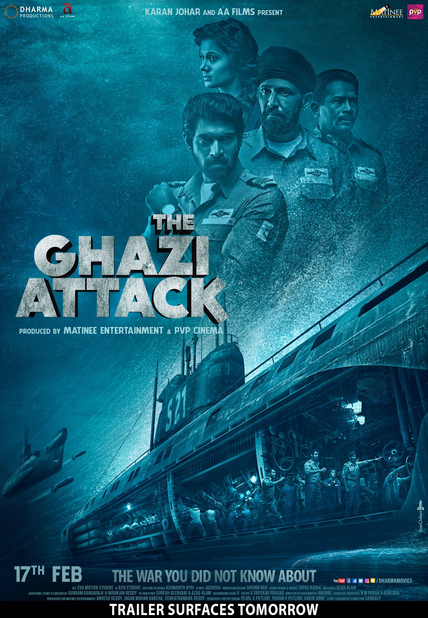 The Ghazi Attack 2017 Imdb