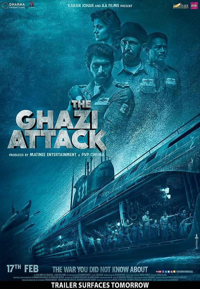 The Ghazi Attack | 2017 | Hindi | 1080p | 720p | BluRay