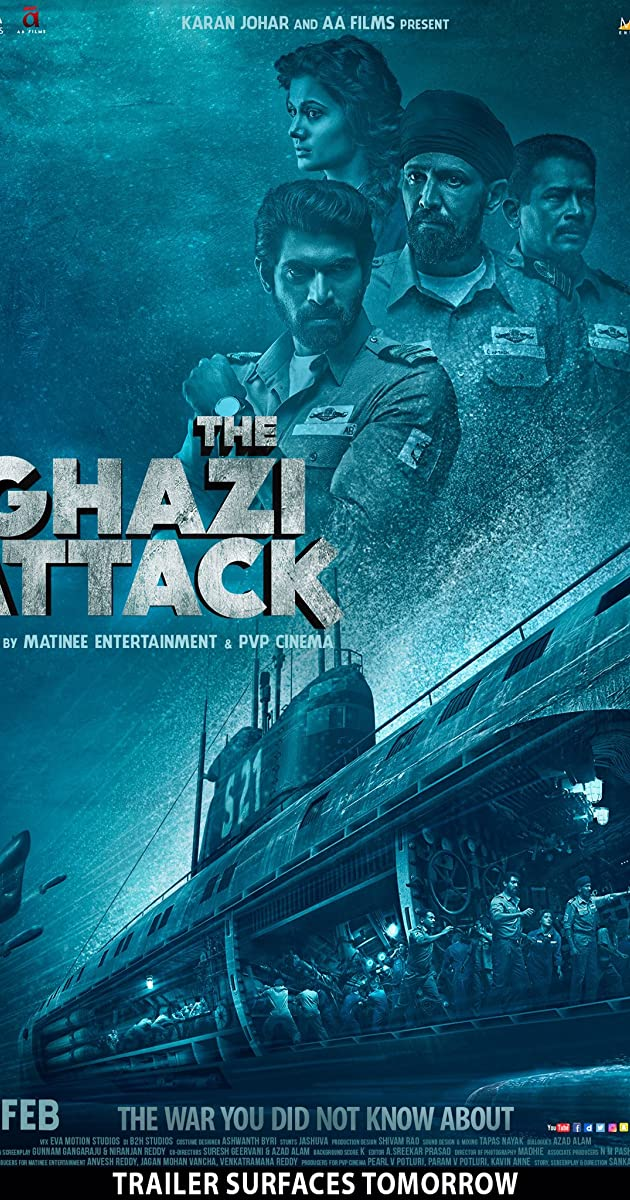 The Ghazi Attack (2017) Subtitles