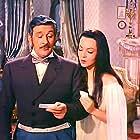 Sara Montiel and Frank Villard in La bella Lola (1962)
