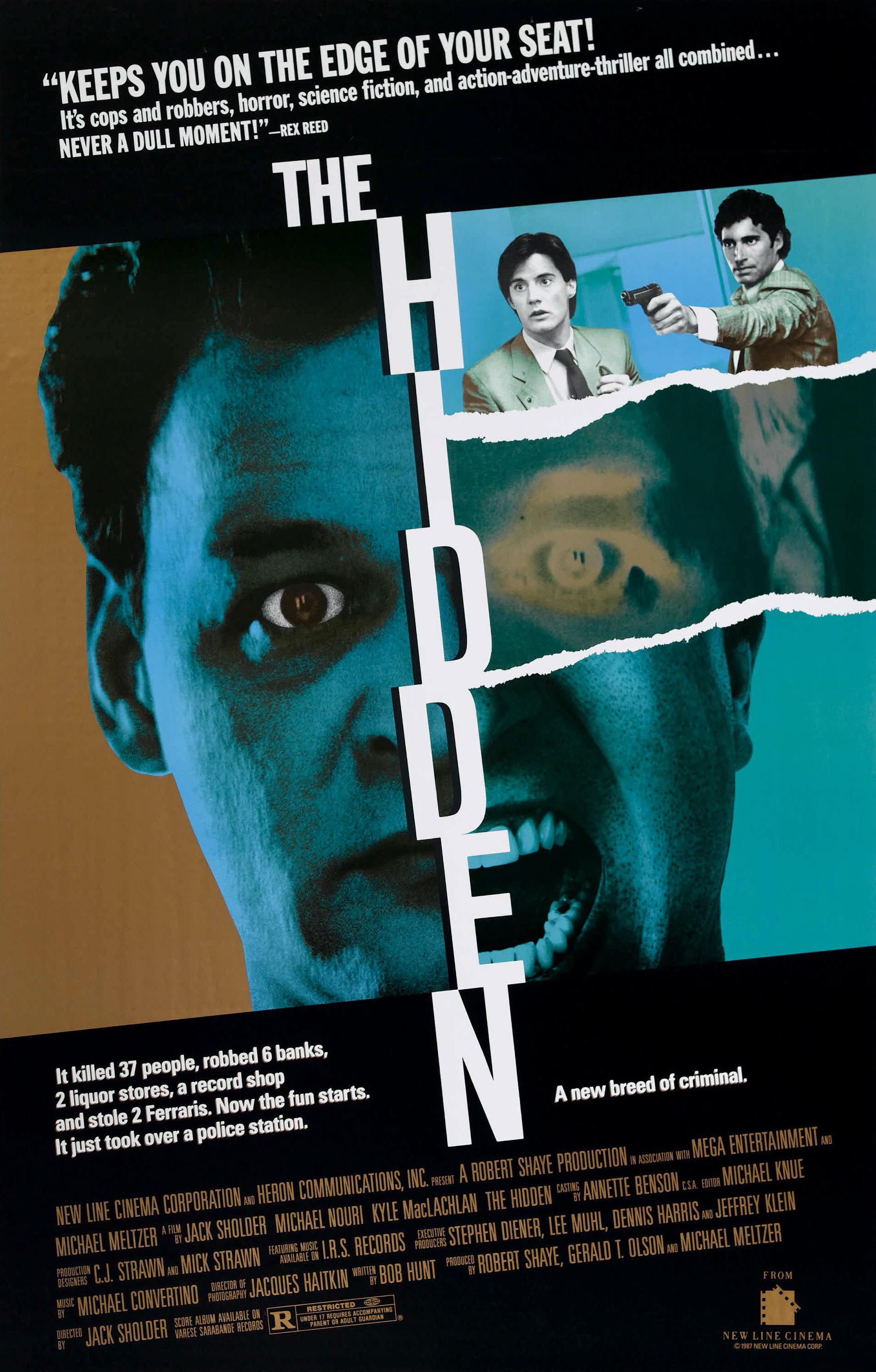 Beyond Bizzarre Now Theyre Hiding >> The Hidden 1987 Imdb