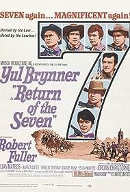 Yul Brynner, Claude Akins, Jordan Christopher, Robert Fuller, Julián Mateos, Warren Oates, and Virgilio Teixeira in Return of the Seven (1966)