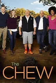 Clinton Kelly, Mario Batali, Michael Symon, Carla Hall, and Daphne Oz in The Chew (2011)