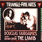 Douglas Fairbanks and Seena Owen in The Lamb (1915)