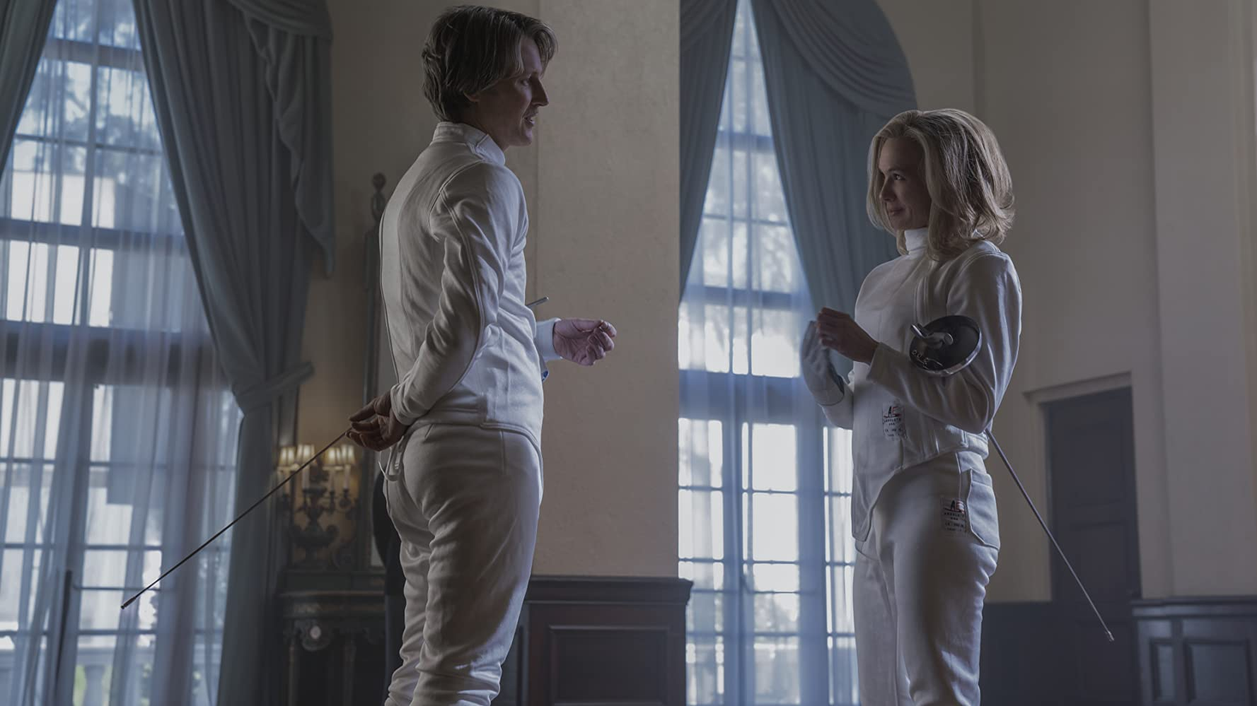 Renée Zellweger and Gabriel Mann in What/If (2019)