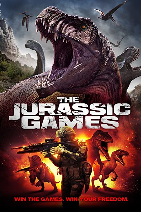 The Jurassic Games (2018) Dual Audio Blu-Ray - 480P | 720P - x264 - 300MB | 850MB - Download & Watch Online With Subtitle Movie Poster - mlsbd