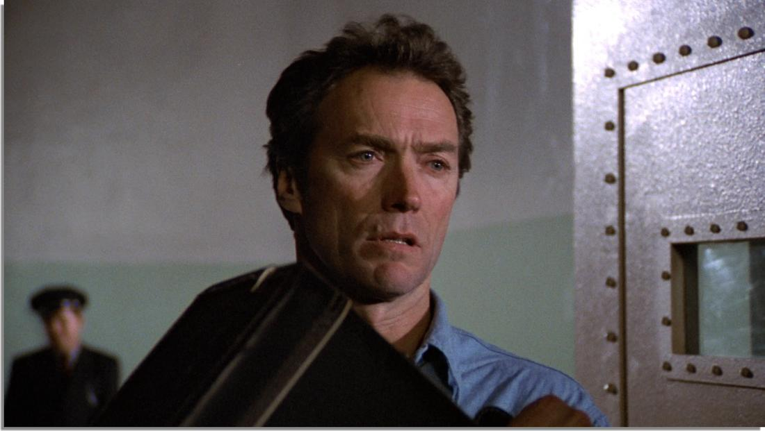 Clint Eastwood in Escape from Alcatraz (1979)