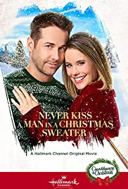 Never Kiss a Man in a Christmas Sweater Poster
