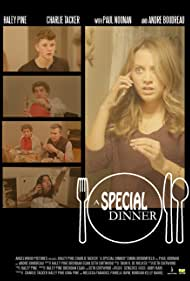 Andre Boudreau, Charlie Tacker, Haley Pine, Emma Broomfield, and Paul Noonan in A Special Dinner (2021)
