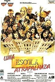 Uma Escola Atrapalhada Poster