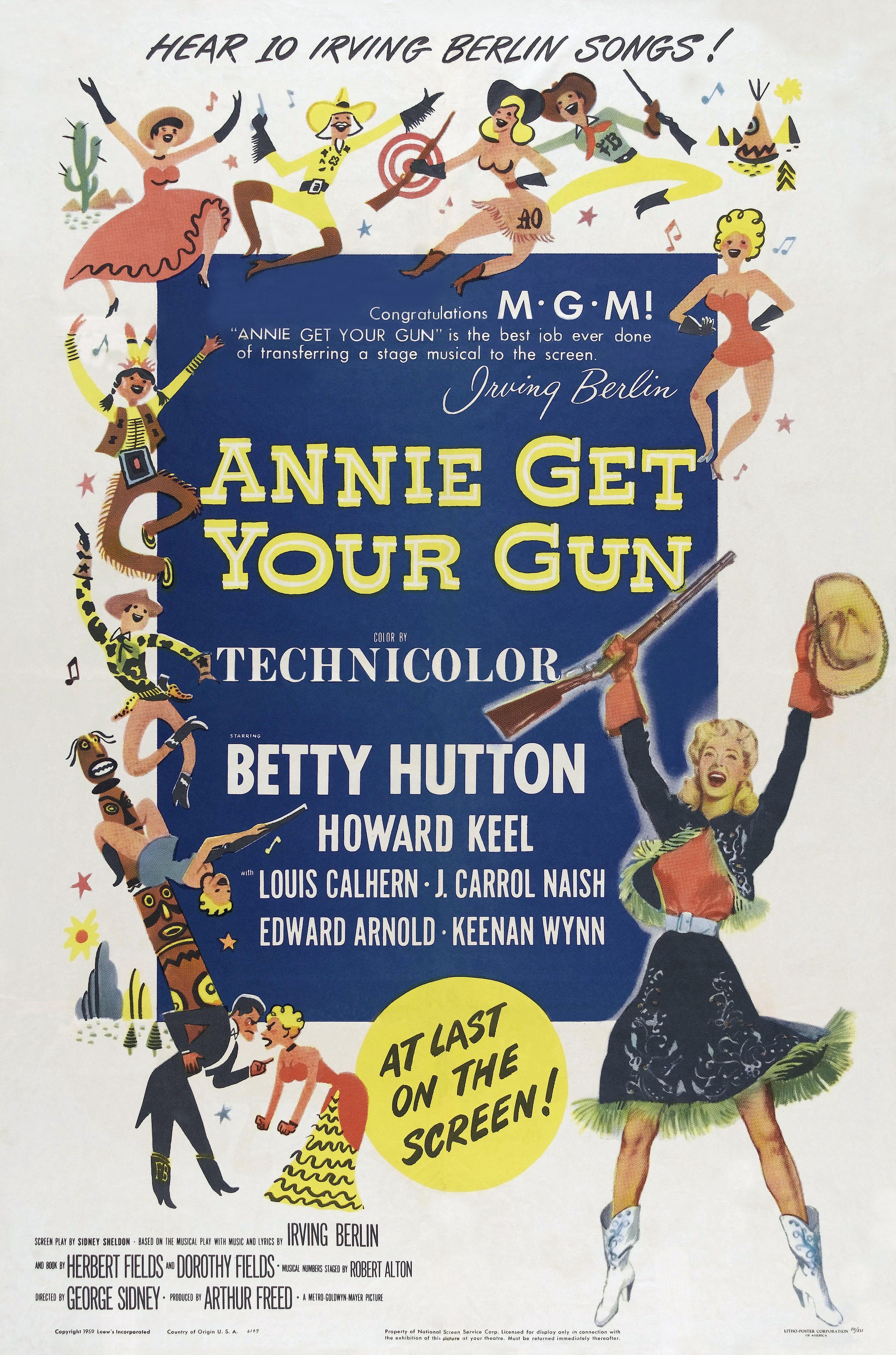 Yhdistynyt kuningaskunta halpa myynti useita värejä Annie Get Your Gun (1950) - IMDb