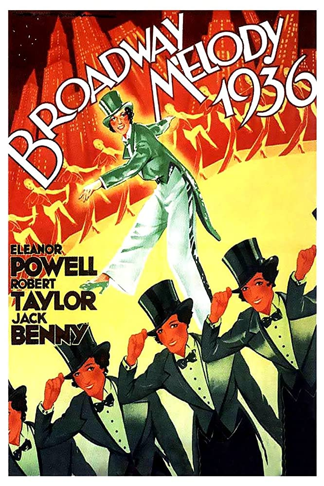 Eleanor Powell in Broadway Melody of 1936 (1935)