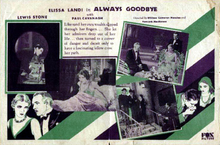 Always Goodbye (1931)