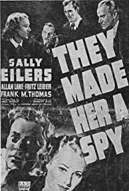 They Made Her a Spy Poster