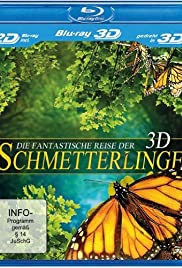 Flight of the Monarch Butterfly 3D Poster
