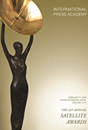 The 22nd Annual Satellite Awards Poster