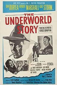 Dan Duryea, Howard Da Silva, and Gale Storm in The Underworld Story (1950)