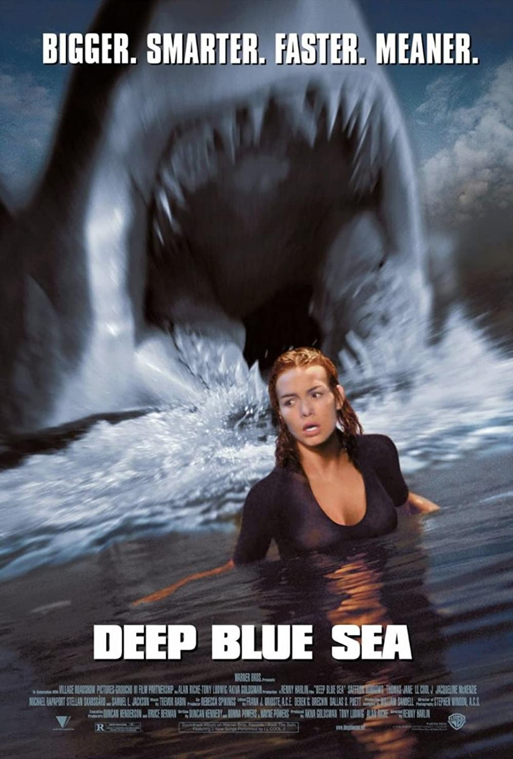 Download Deep Blue Sea 1999 Hindi ORG Dual Audio 1080p BluRay ESub 1.8GB
