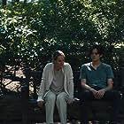 Mary Stuart Masterson, Miles Robbins, and Patrick Schwarzenegger in Daniel Isn't Real (2019)