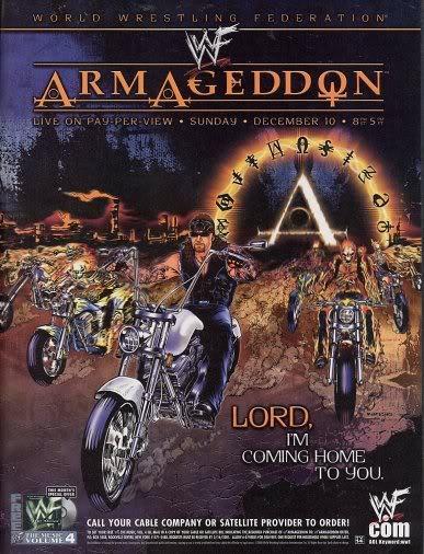 Image result for WWE Armageddon 2000 Poster