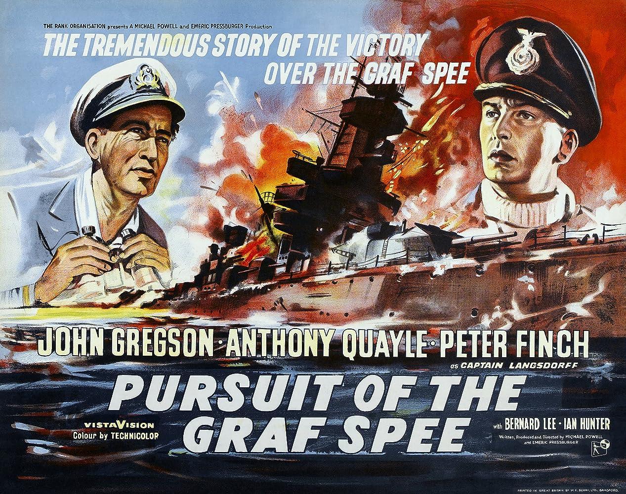 War Movie :  Pursuit of the Graf Spee (1956)