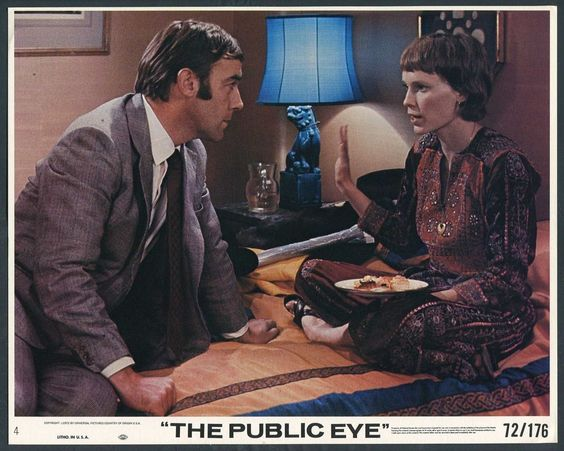 Mia Farrow and Michael Jayston in Follow Me (1972)