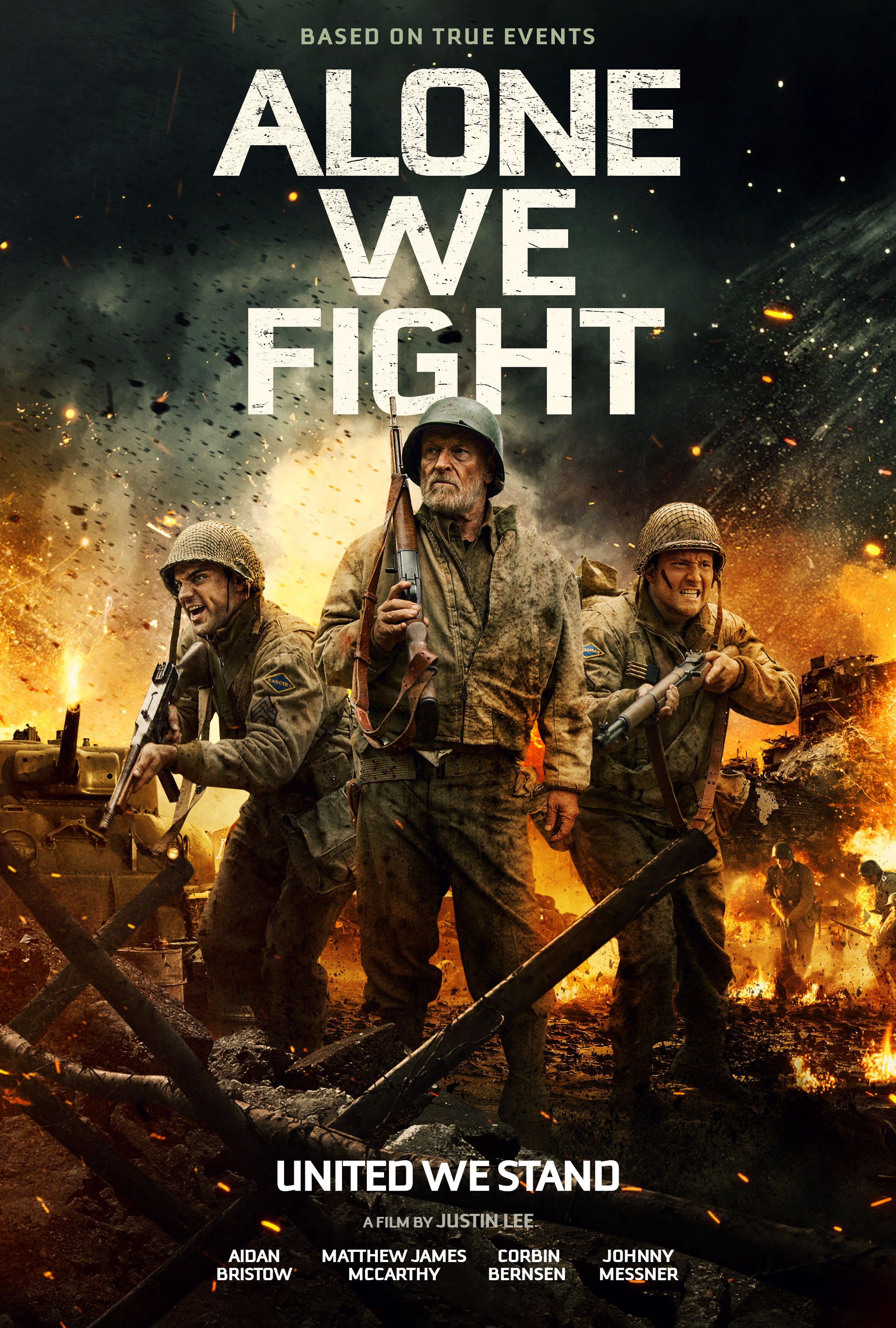 Alone We Fight (2018) - IMDb