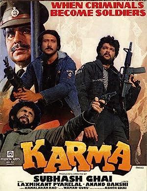 Karma movie, song and  lyrics