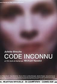 Code inconnu: Récit incomplet de divers voyages (2000)