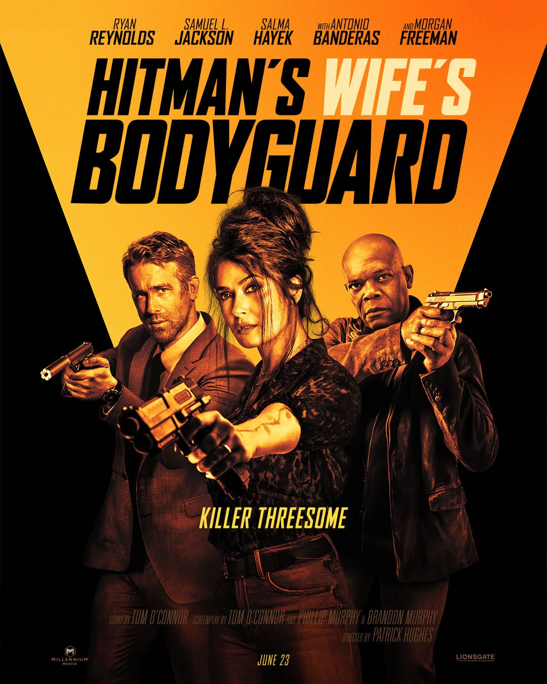 The Hitman's Wife's Bodyguard 2021 English 720p HDCAM 750MB Download