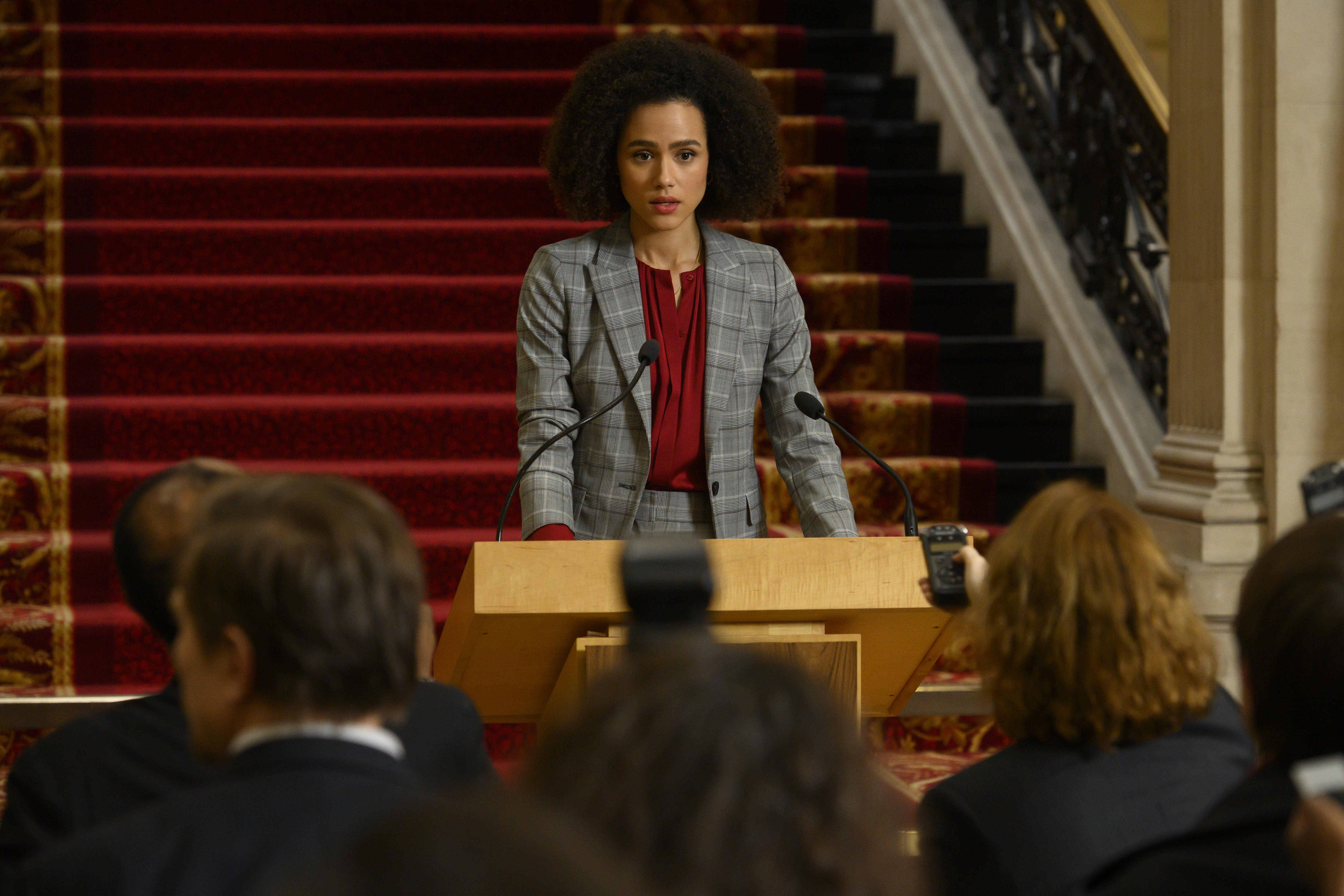 Nathalie Emmanuel in Four Weddings and a Funeral (2019)