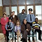 Elizabeth Berridge, Liz Torres, Lenny Clarke, John Larroquette, Chi McBride, Daryl Mitchell, and Gigi Rice in The John Larroquette Show (1993)