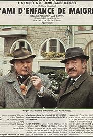 L'ami d'enfance de Maigret Poster
