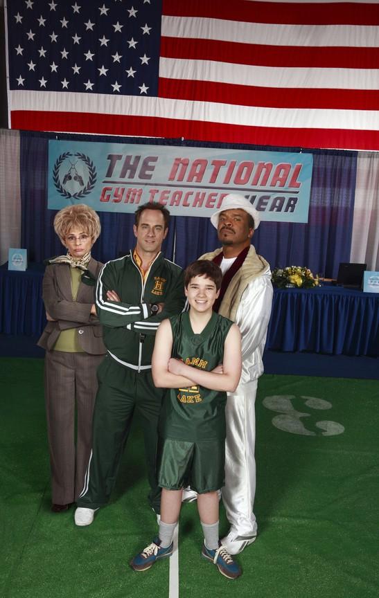 David Alan Grier, Christopher Meloni, Nathan Kress, and Amy Sedaris in Gym Teacher: The Movie (2008)