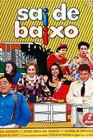 Aracy Balabanian, Tom Cavalcante, Miguel Falabella, Luis Gustavo, Cláudia Jimenez, and Marisa Orth in Sai de Baixo (1996)