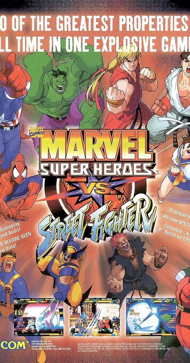 Gameplay / Marvel Super Heroes Vs Street Fighter - YouTube