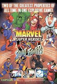 Marvel Super Heroes vs. Street Fighter(1997) Poster - Movie Forum, Cast, Reviews
