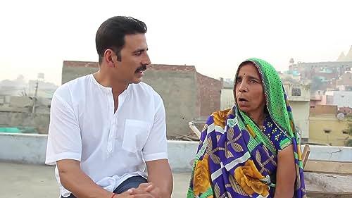 Akshay Kumar on Shooting in Mathura