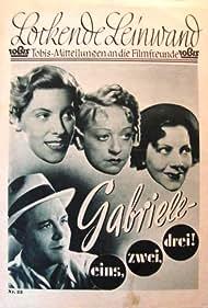 Gabriele: eins, zwei, drei (1937)