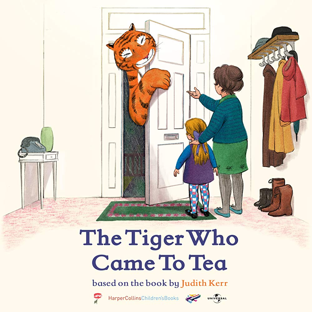 TIGRAS, KURIS ATĖJO ARBATOS (2019) / The Tiger Who Came to Tea