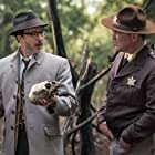 Aidan Gillen and Ty Olsson in Project Blue Book (2019)