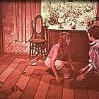 Joy Bang and Roger Garrett in Night of the Cobra Woman (1972)