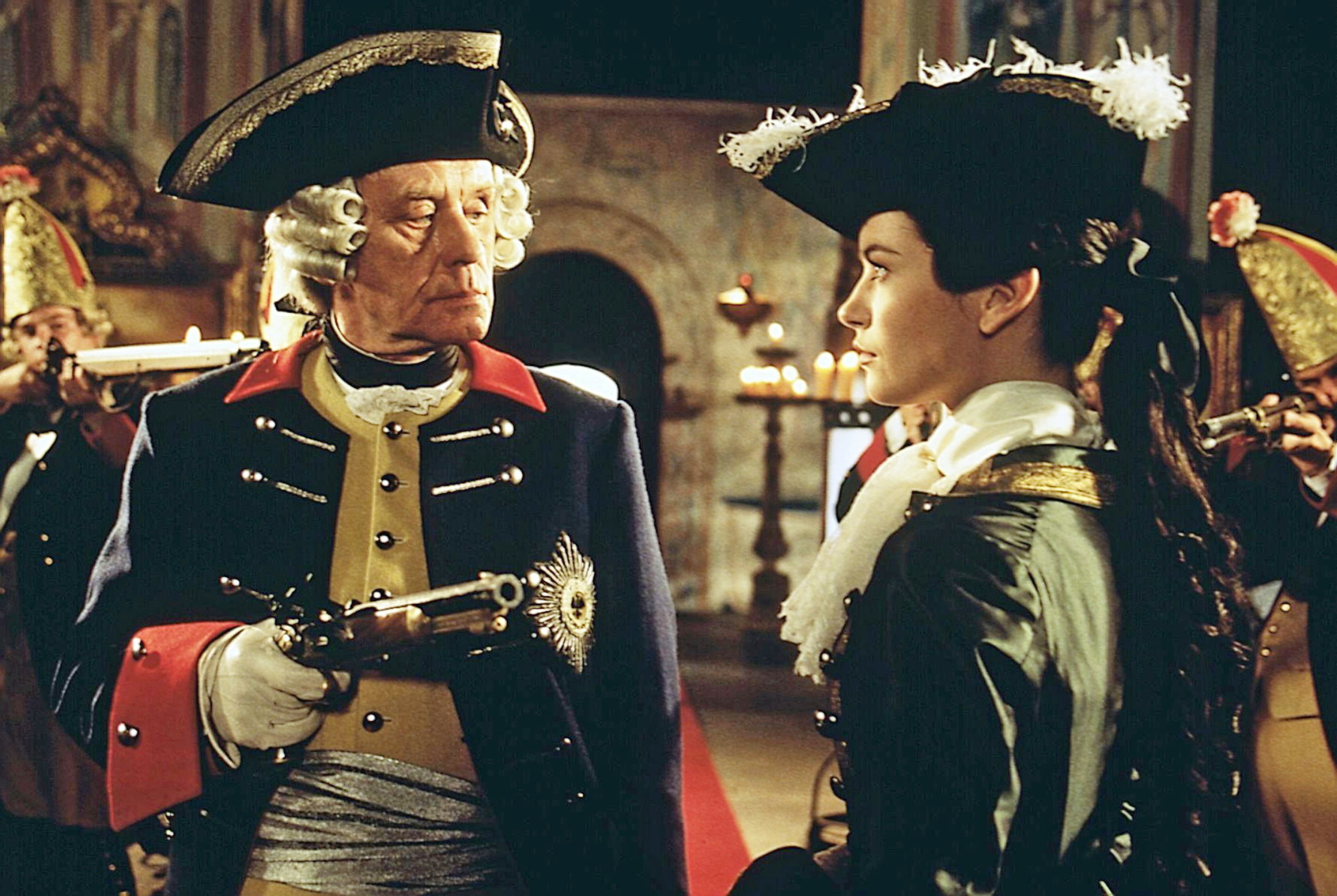 Catherine Zeta-Jones and Horst Frank in Catherine the Great (1995)
